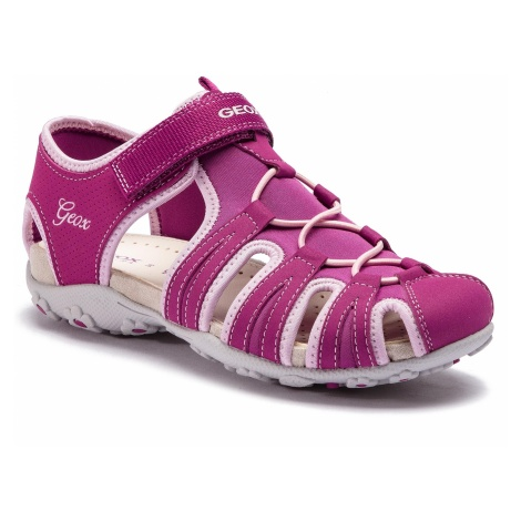 Sandały GEOX - J S.Roxanne B J92D9B 05015 CP8E8 D Dk Raspberry/Pink