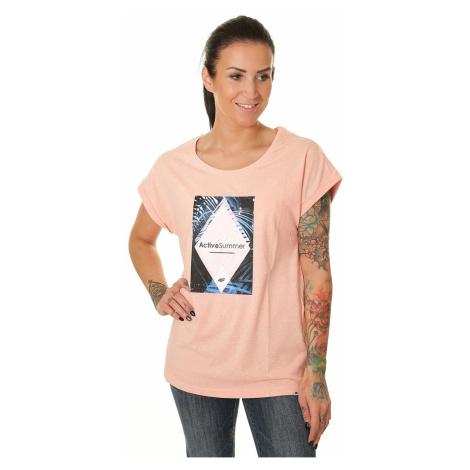 koszulka 4F H4L19-TSD010 - 64M/Salmon Coral Melange