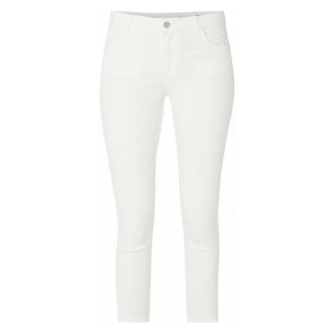 Jeansy barwione o kroju Slim Fit z wysokim stanem Review