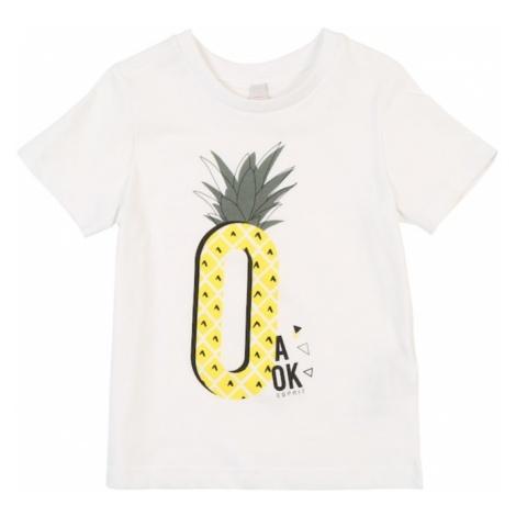ESPRIT Koszulka żółty / czarny / biały