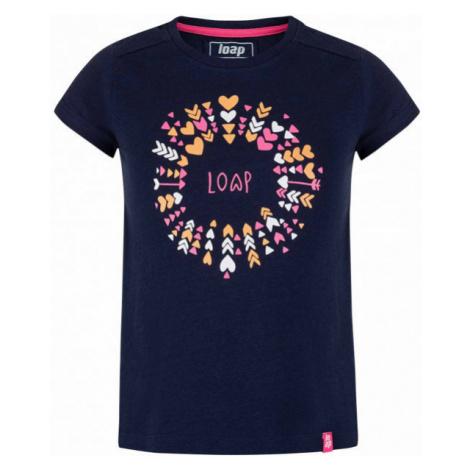Loap BARIE czarny - Koszulka dziewczęca