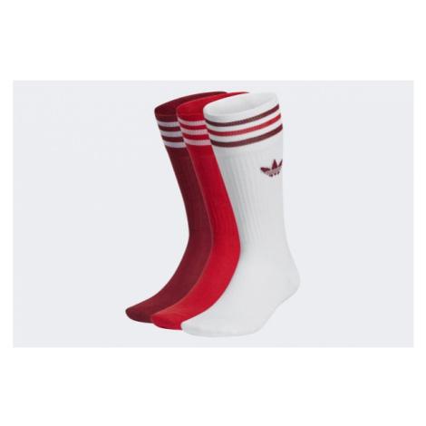 Adidas Originals Solid Crew Sock 3 Pairs > GN3073
