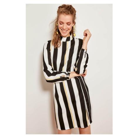Trendyol Black Patterned Dress