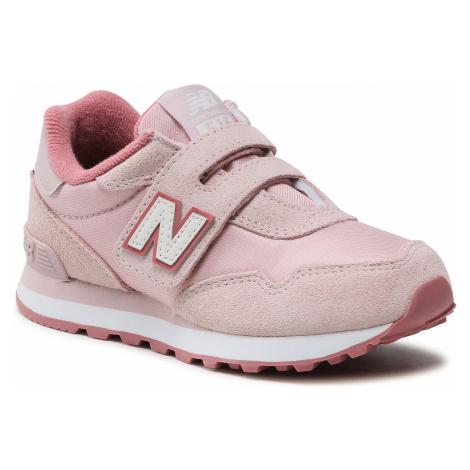 Sneakersy NEW BALANCE - YV515SO Różowy