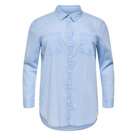 ONLY Carmakoma Bluzka niebieski