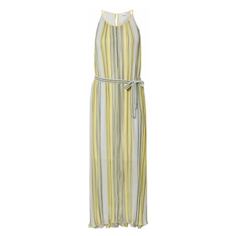 BOSS Letnia sukienka 'Ebbona' żółty / jasnozielony Hugo Boss