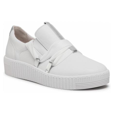Sneakersy GABOR - 63.333.21 Weiss/Silver