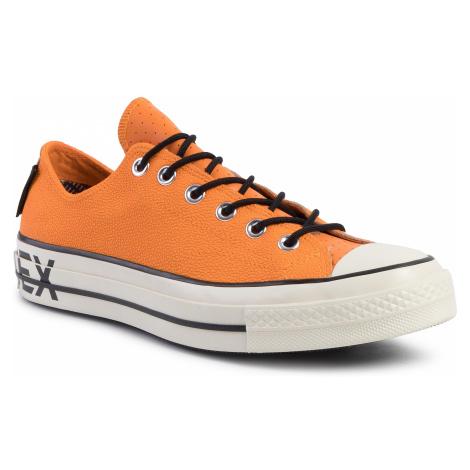 Trampki CONVERSE - Chuck 70 Ox GORE-TEX 163228C Orange Rind/Black/Egret