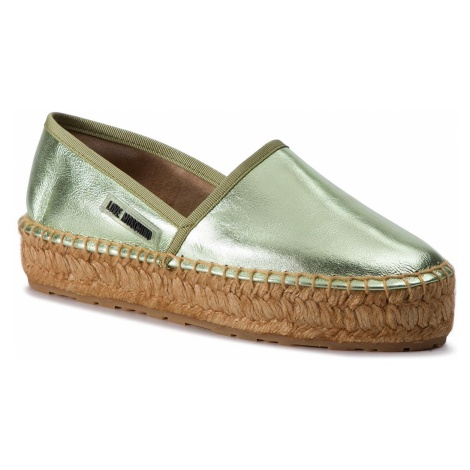 Espadryle LOVE MOSCHINO - JA10223G07JC0800 Acqua