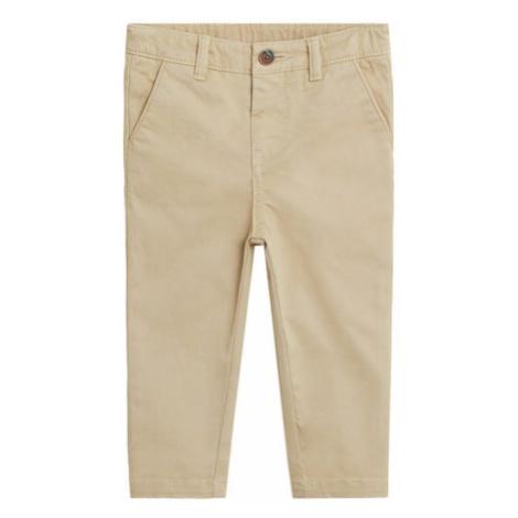 MANGO KIDS Spodnie jasnobrązowy