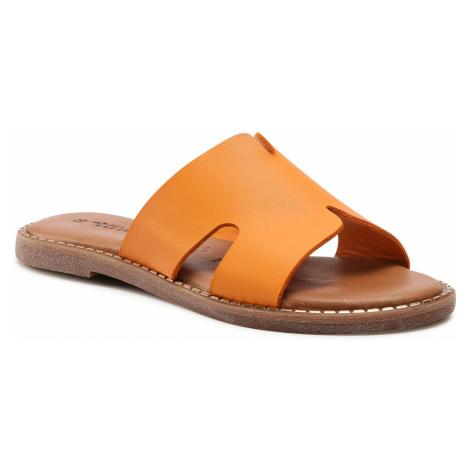 Klapki TAMARIS - 1-27135-26 Orange 606