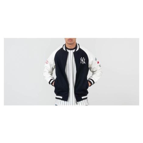 New Era MLB New York Yankees Raglan Varsity Jacket Navy/ Off White