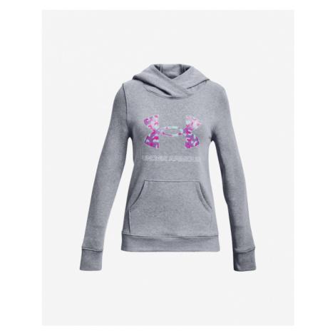 Under Armour Rival Fleece Logo Bluza dziecięca Szary