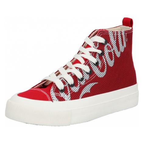 Rubi Trampki wysokie 'Coca Cola Britt Retro' czerwony / biały
