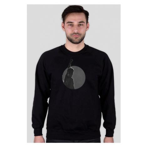 Bluza męska bez kaptura z czarno-białym zdjęciem (kraków)