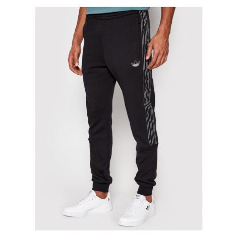 Adidas Spodnie dresowe Sprt Sweatpants GN2426 Czarny Slim Fit