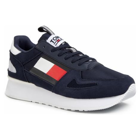 Sneakersy TOMMY JEANS - Tommy Jeans Lifestyle Runner EM0EM00410 Twilight Navy C87 Tommy Hilfiger