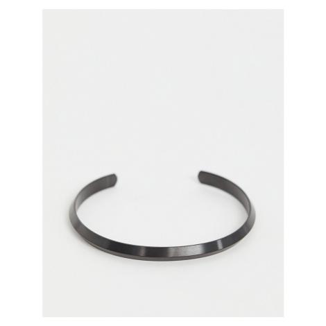 Seven London cuff bracelet in black