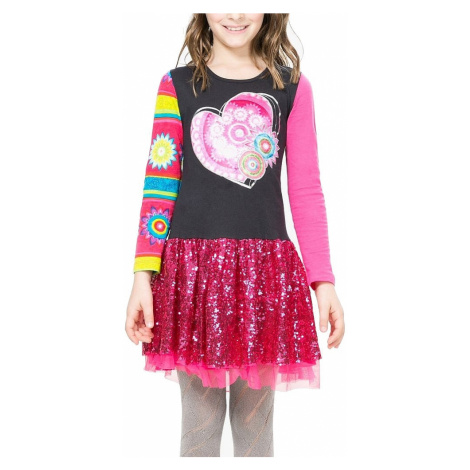 sukienka Desigual 67V32C5/Monrovia - 2054/Grafito