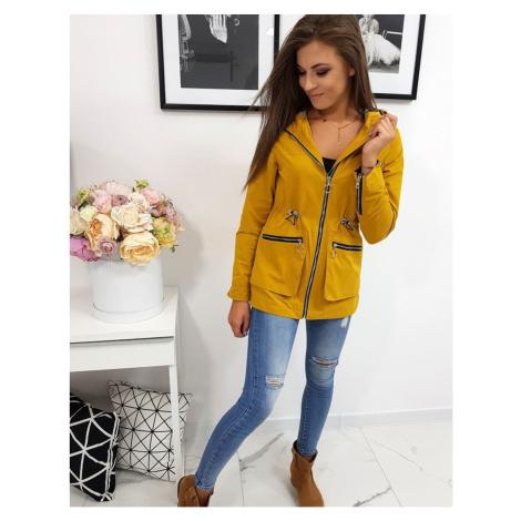 Women´s jacket AMELIA mustard TY0568 DStreet