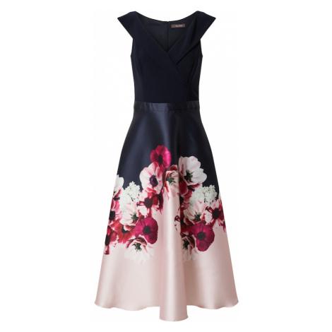 Vera Mont Suknia wieczorowa niebieski / różowy / biały / purpurowy