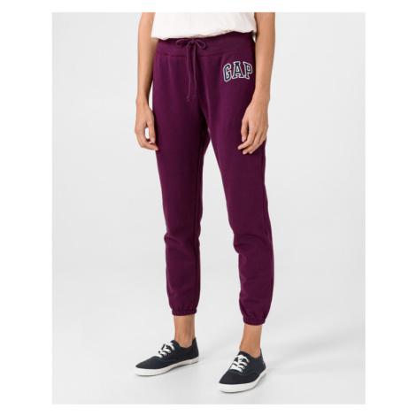 GAP Spodnie dresowe Fioletowy