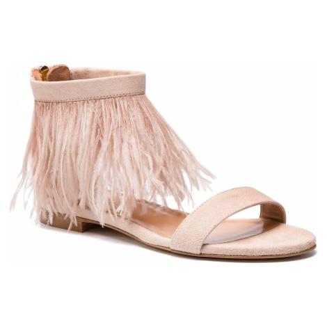 Sandały TWINSET - Sandalo 191TCP212 Bocciolo 00690