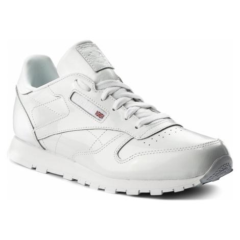 Buty Reebok - Classic Leather Patent CN2063 White