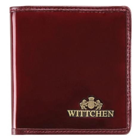 Mały skórzany portfel damski Wittchen