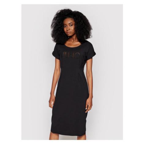 Liu Jo Sport Sukienka codzienna TA1027 J5756 Czarny Regular Fit