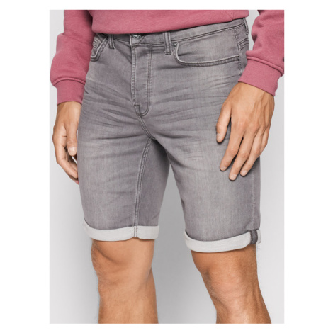 ONLY & SONS Szorty jeansowe Ply 22018583 Szary Regular Fit
