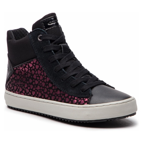 Sneakersy GEOX - J Kalispera G. D J844GD 0DHBC C9999 S Black