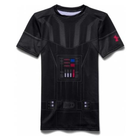 Under Armour koszulka chłopięca Darth Vader HG SS Blk Gra Risk Red
