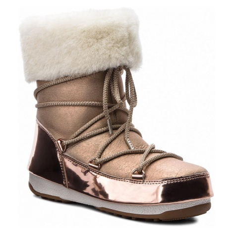 Śniegowce MOON BOOT - Rose Mirror 24008200001 Pink