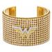 Bransoletka w formie mankietu Fit Wonder Woman, odcień złota, różnobarwne metale