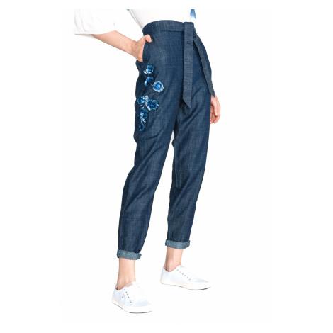 TWINSET Spodnie Niebieski