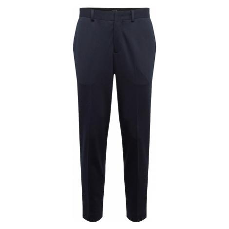 SELECTED HOMME Spodnie w kant niebieska noc