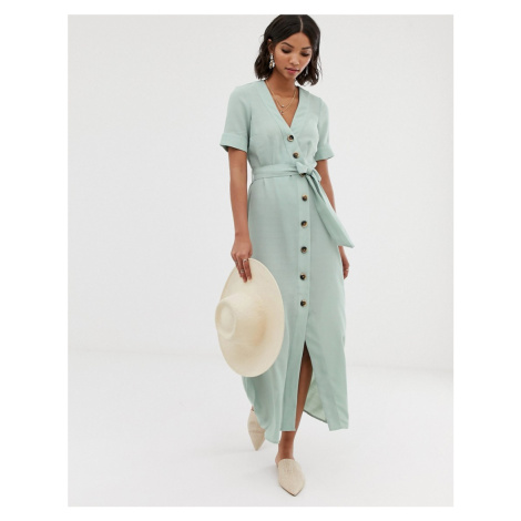 Y.A.S button through maxi dress