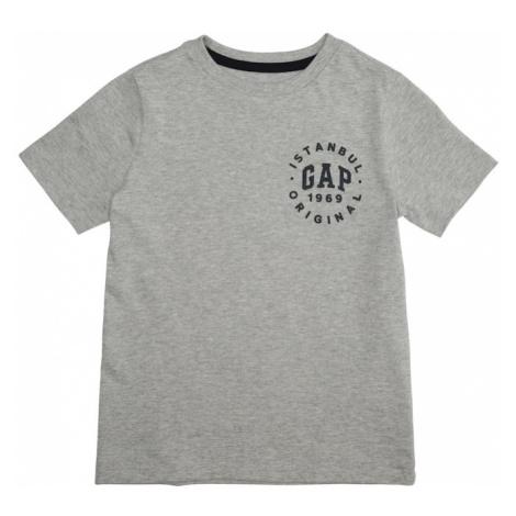 GAP Koszulka nakrapiany szary