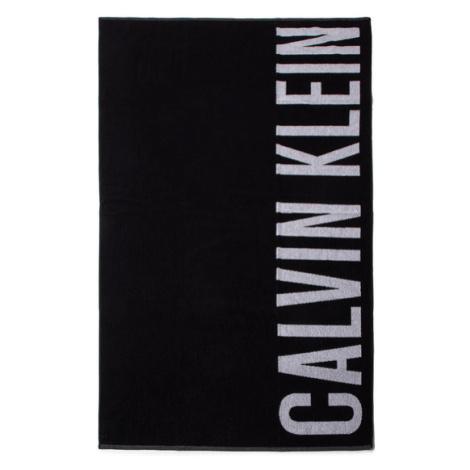 Calvin Klein Swimwear Ręcznik Towel KU0KU00062BEH Czarny