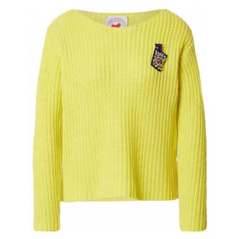 Frogbox Sweter żółty