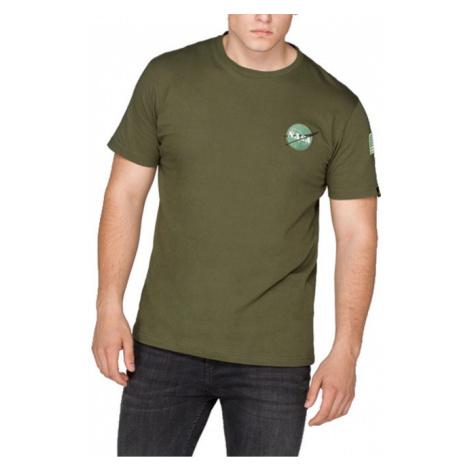 Koszulka męska Alpha Industries Space Shuttle 176507 257
