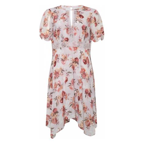 Forever New Sukienka różowy pudrowy / liliowy