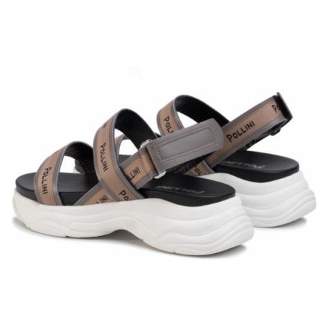 Pollini Sandały SA16175G1ATD0019 Beżowy