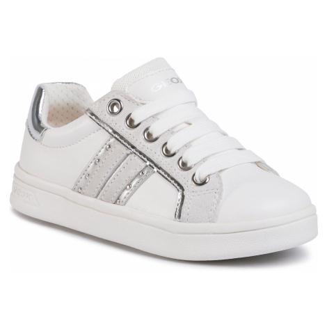 Sneakersy GEOX - J Djrock G. G J024MG 05422 C0007 M White/Silver