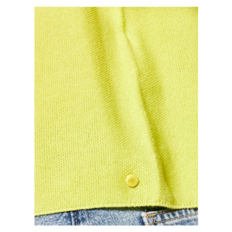 Marc O'Polo Sweter 002 6006 60289 Żółty Regular Fit