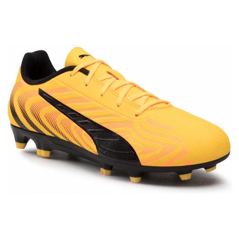 Buty PUMA - One 20.4 Fg/Ag Jr 105840 01 Yellow/Puma Black/Orange