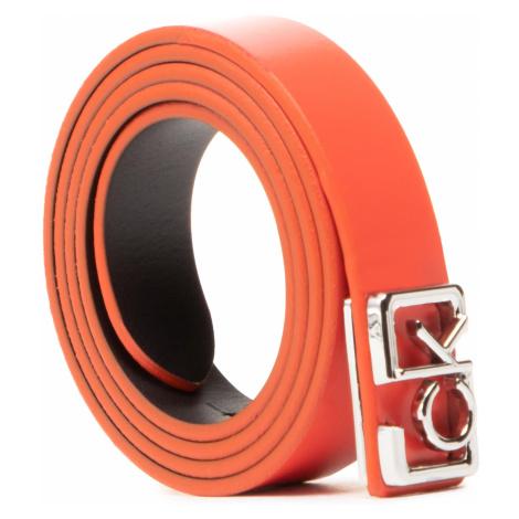 Pasek Damski CALVIN KLEIN - Plaque Skinny Belt 20mm K60K607325 XA7