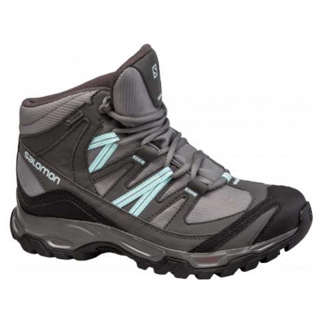 Salomon MUDSTONE MID 2 GTX W szary 4.5 - Obuwie trekkingowe damskie