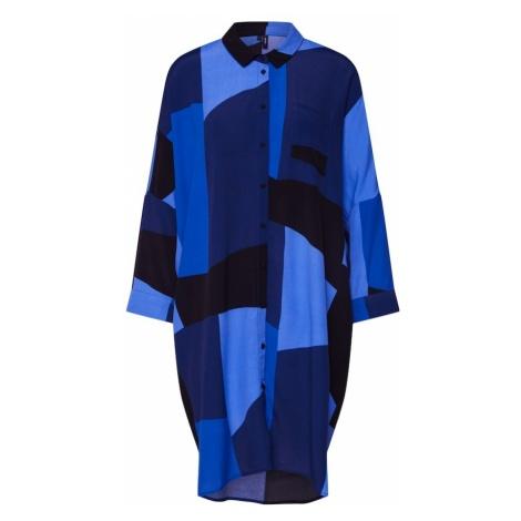 VERO MODA Bluzka 'Molly' niebieski / jasnoniebieski / ciemny niebieski / fioletowo-niebieski
